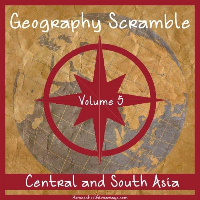 Geography Scramble Vol-5 Central and South Asia