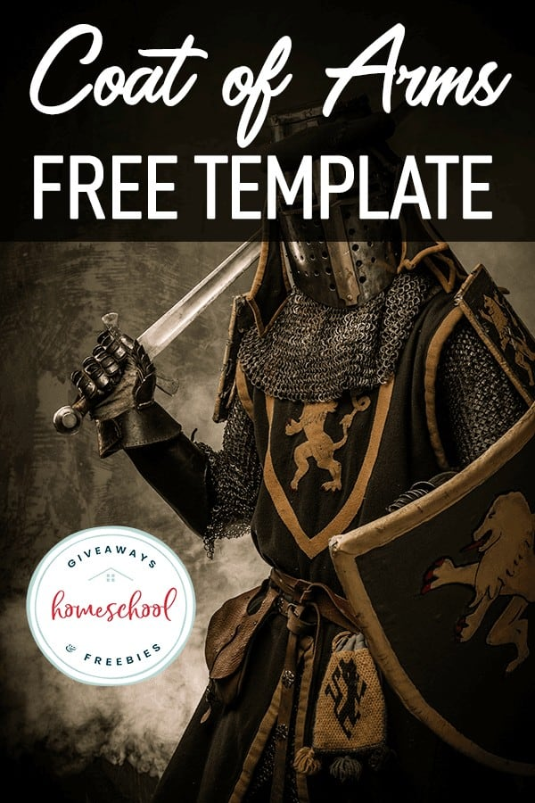 knight with armor and text overlay
