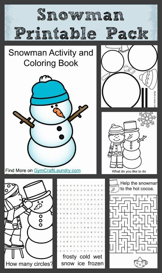 Free-Snowman-Coloring-and-Printable-Pack-