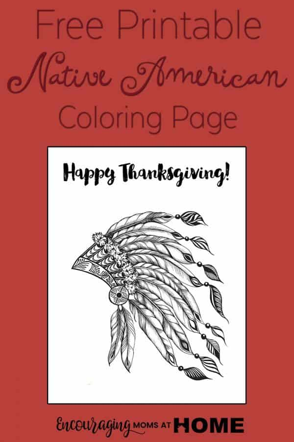 Indian-Coloring-Page-Thanksgiving-600x900