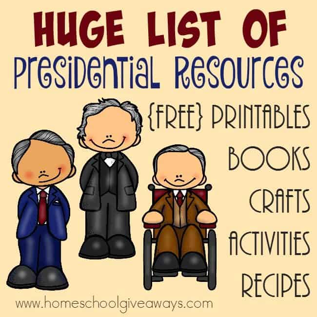 Learning about each and every president of the United States is an important part of history. Now is the perfect time to study them in light of the election. :: www.homeschoolgiveaways.com