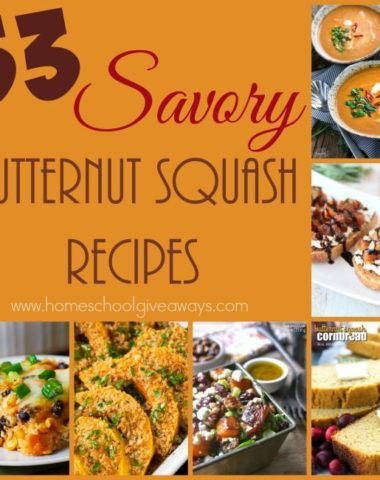 Want to eat more healthy? Butternut Squash is a delicious and savory vegetable that can be used in so many different recipes. :: www.homeschoolgiveaways.com
