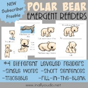 FREE Polar Bear Emergent Readers_square