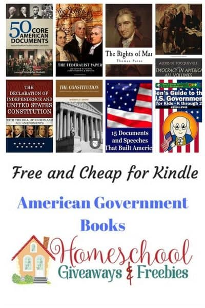 Free and Cheap Government Kindle Books