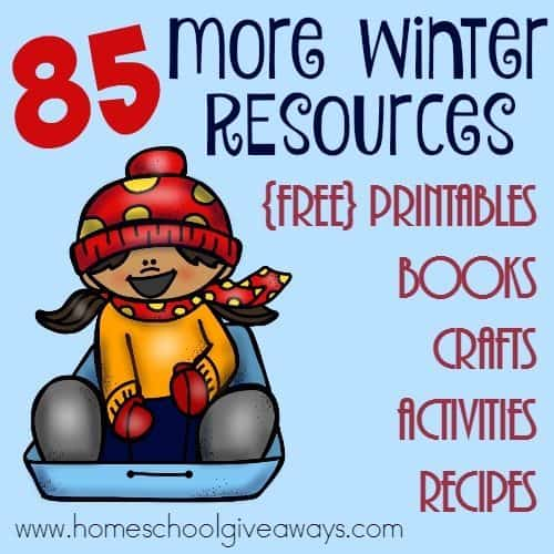 If you live anywhere in the north, its likely that your kids can't always be outside. These fun Winter printables and activities are great for those days you're stuck inside. :: www.inallyoudo.net