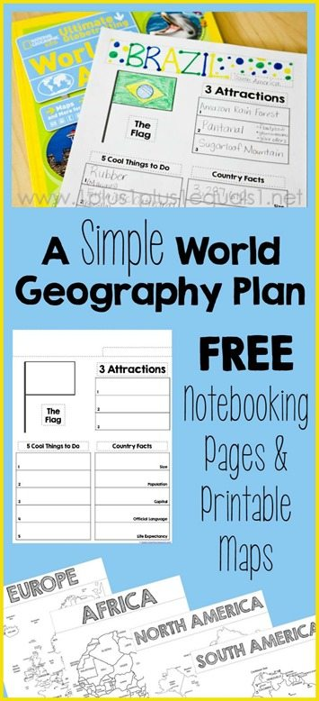 World-Geography-Printables-Country-Notebooking-Pages-and-Printable-Maps
