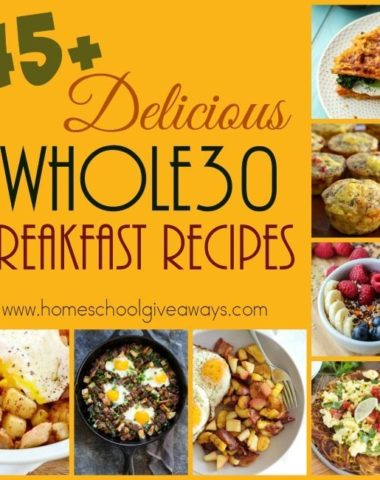 Is this the year you're getting healthy? Jump start your new healthy eating lifestyle with Whole30. Check out these delicious breakfast recipes! :: www.homeschoolgiveaways.com