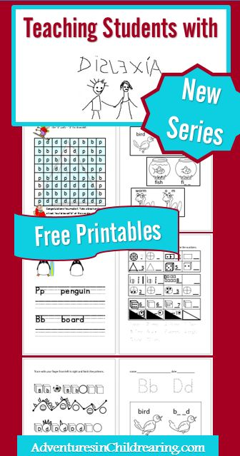 Teaching Students with Dyslexia with FREE Printables ...