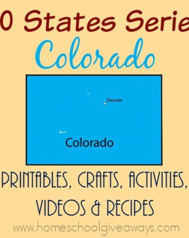 Colorado is full of mountains and prairies that have rich history in the Native American culture. If you're studying the state, check out these resources! :: www.homeschoolgiveaways.com