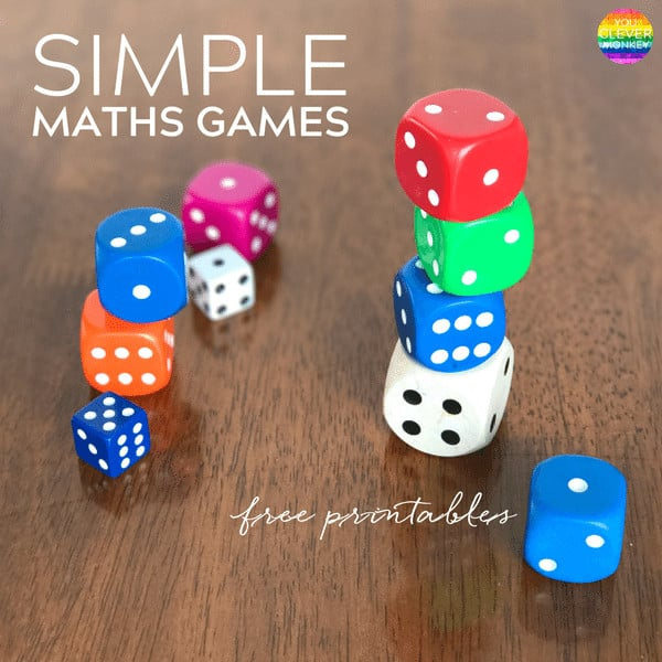 A. Simple Maths Games To Play Together