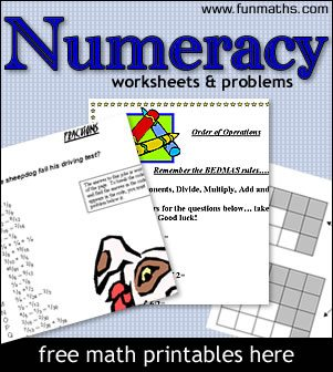 numeracy_worksheets