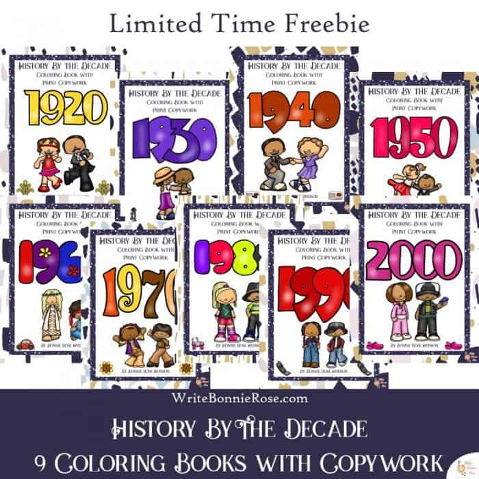 History by the Decade-Color Through History