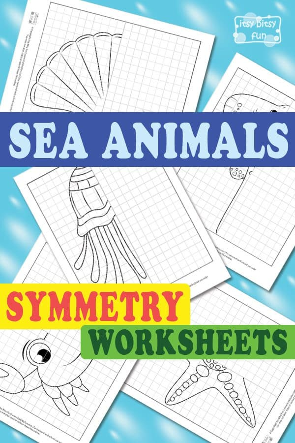 Lovely-Sea-Animals-Symmetry-Worksheets