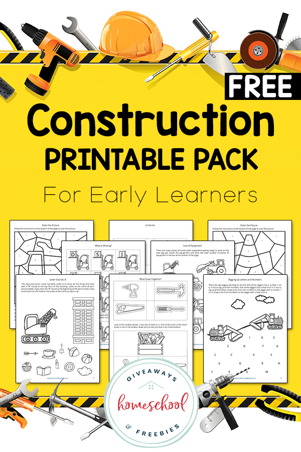 Construction equipment and worksheets
