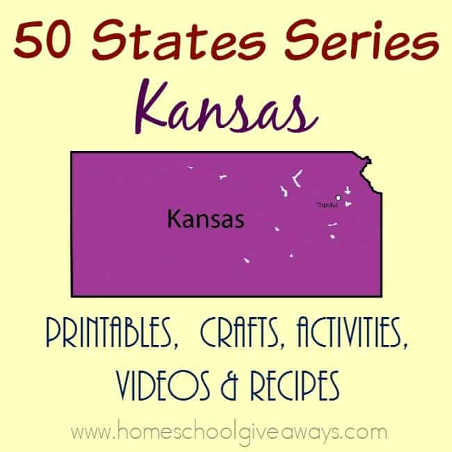 Going through Kansas soon? If not by car, you can travel there by way of your computer! Check out these resources. :: www.homeschoolgiveaways.com