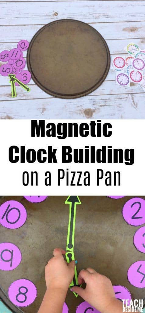 Magnetic-Clock-Building-on-a-Pizza-Pan-476x1024