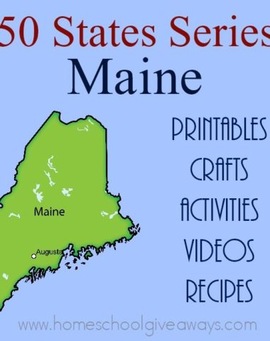 I have gathered everything you need to teach and learn about the great state of Maine. :: www.homeschoolgiveaways.com