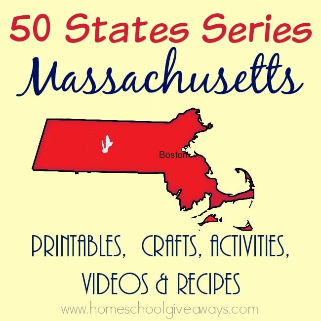 I have gathered everything you need to teach and learn about the great state of Massachusetts. :: www.homeschoolgiveaways.com