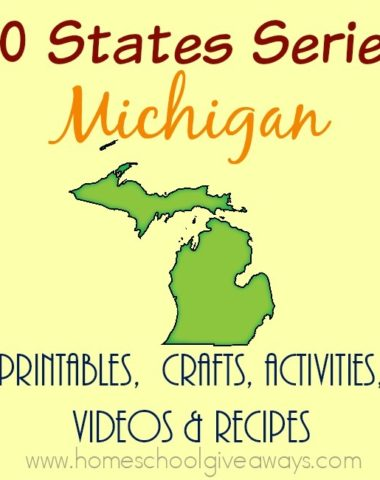 I have gathered everything you need to teach and learn about the great state of Michigan. :: www.homeschoolgiveaways.com