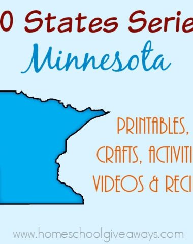 I have gathered everything you need to teach and learn about the great state of Minnesota. :: www.homeschoolgiveaways.com
