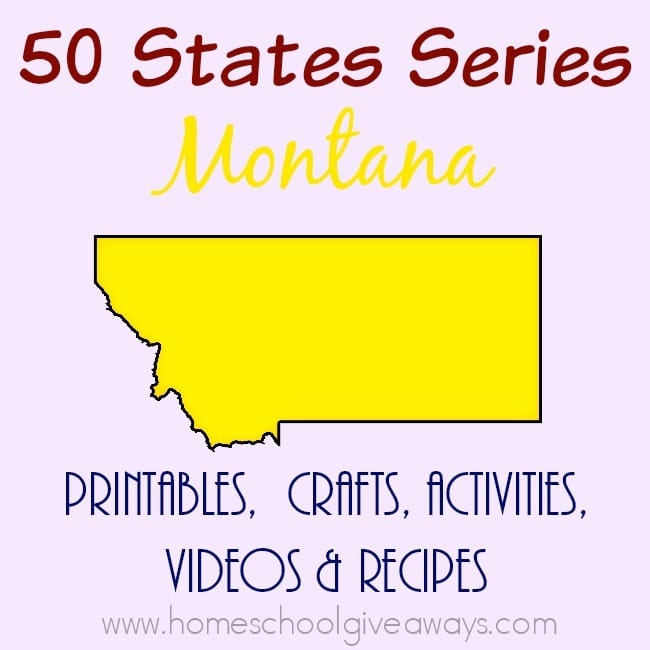 I have gathered everything you need to teach and learn about the great state of Montana. :: www.homeschoolgiveaways.com