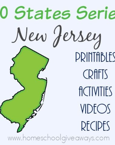 Want to know more about the state of New Jersey? Find everything you need to teach and/or learn about it with these free printables, activities, crafts, recipes & more! :: www.homeschoolgiveaways.com