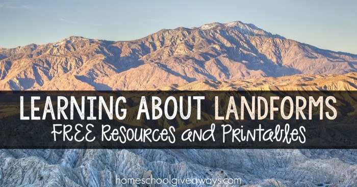 Learning About Landforms FB