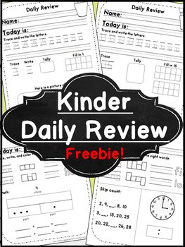 kinder daily review