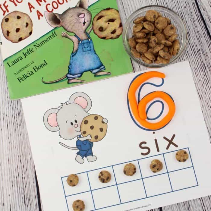 Give Mouse Cookie Mats Square