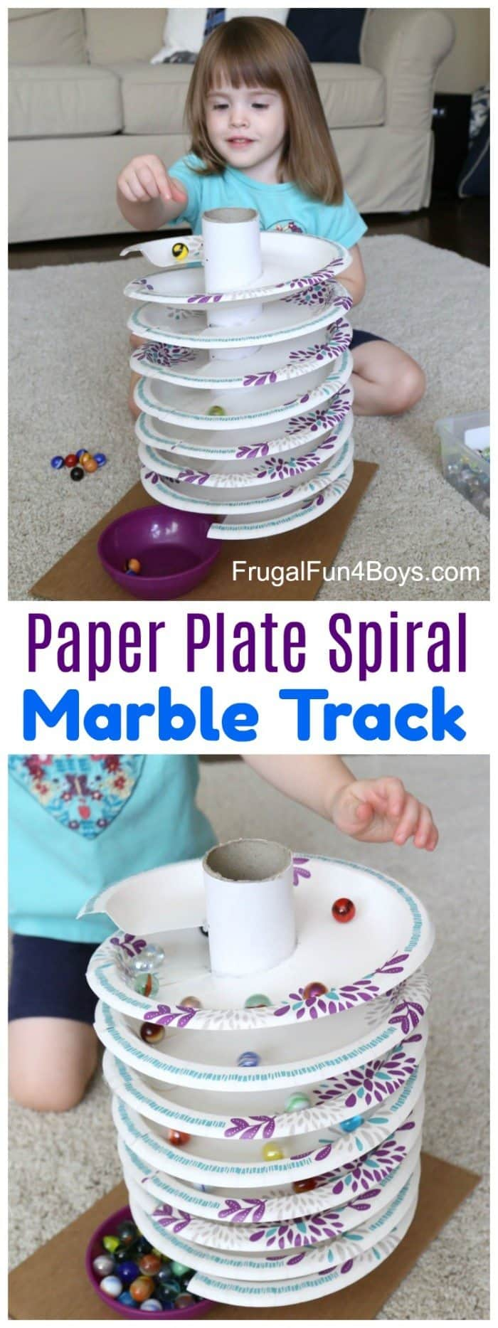 Spiral-Marble-Track-Pin