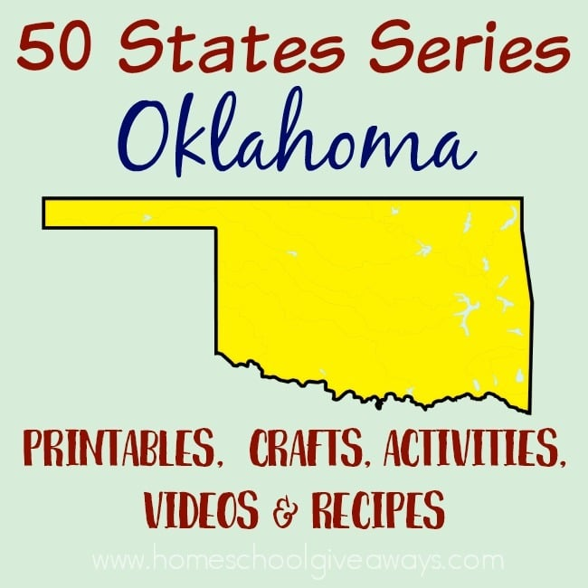 Oklahoma: Facts, Map and State Symbols - EnchantedLearning.com | 650x650