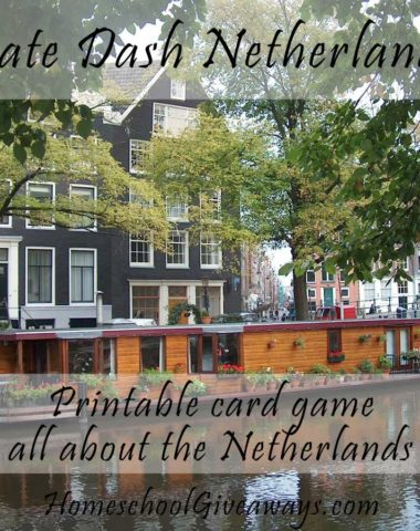 Date Dash Netherlands-Dutch History Card Game