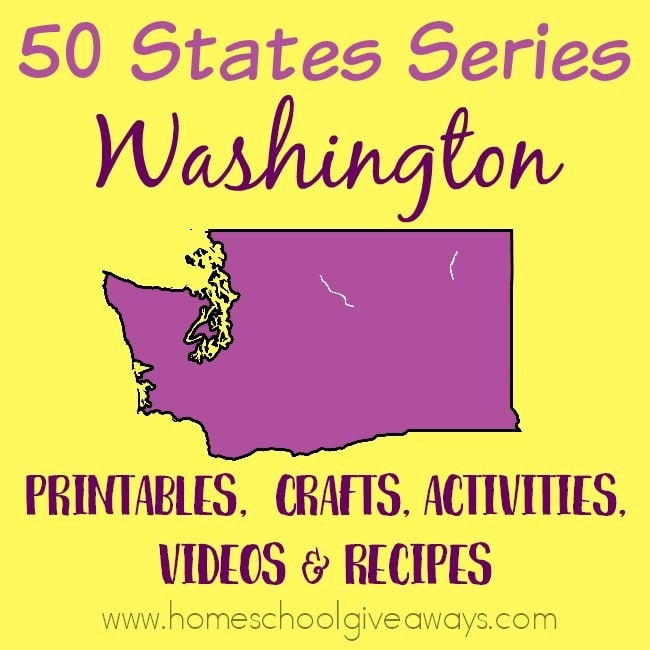 Everything you need to teach and/or learn about the great state of Washington. From free printables to must see places to visit, to crafts, activities and more! :: www.homeschoolgiveaways.com