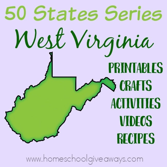 Everything you need to teach and/or learn about the great state of West Virginia. From free printables to must see places to visit, to crafts, activities and more! :: www.homeschoolgiveaways.com