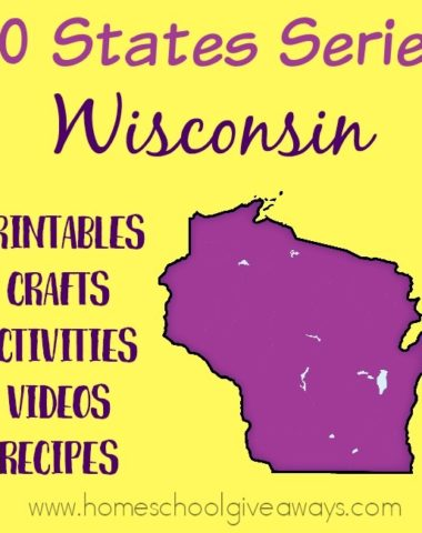 Everything you need to teach and/or learn about the great state of Wisconsin. From free printables to must see places to visit, to crafts, activities and more! :: www.homeschoolgiveaways.com
