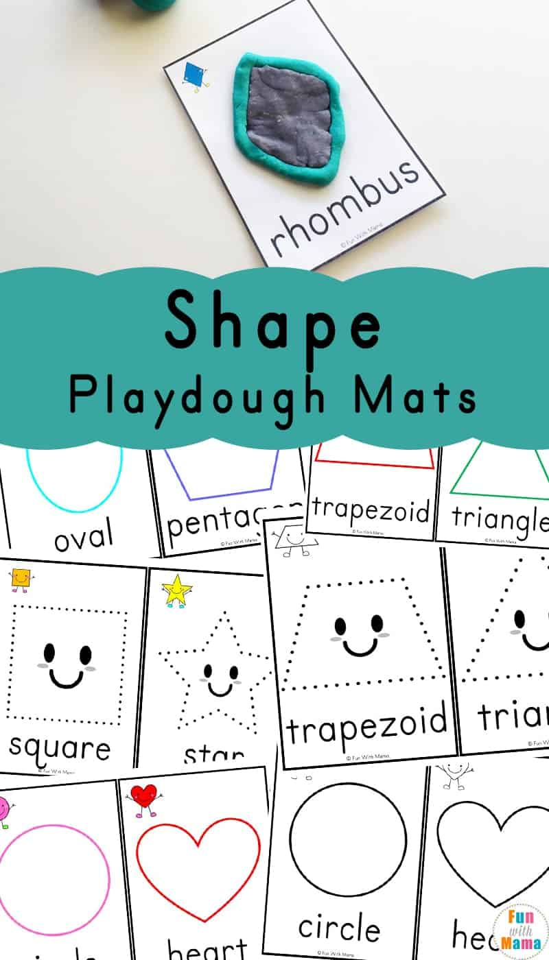 Shape-Playdough-Mats