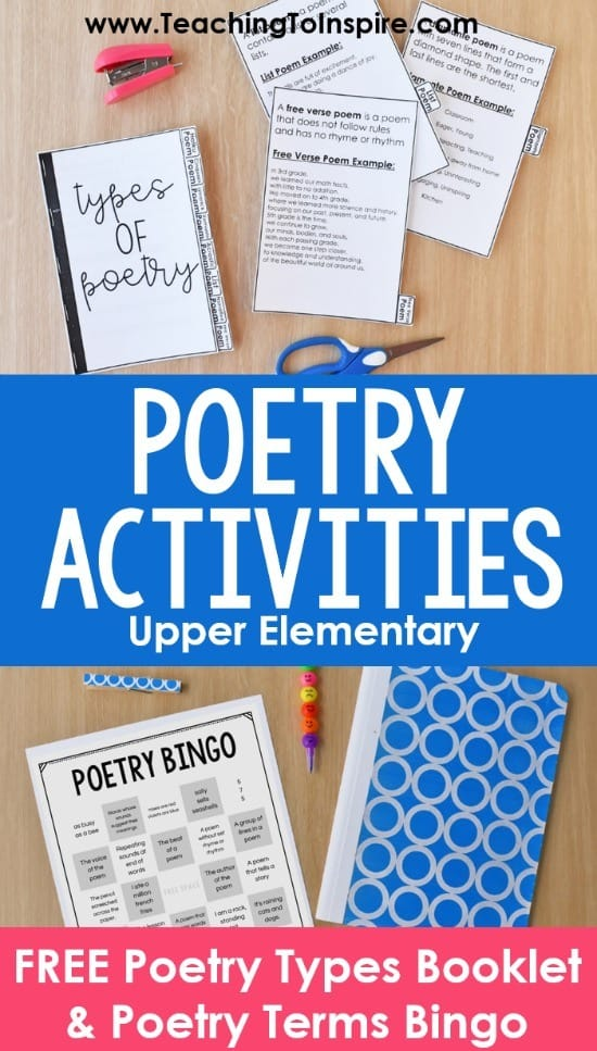 poetry-activities-upper-elementary-poetry-month-pin