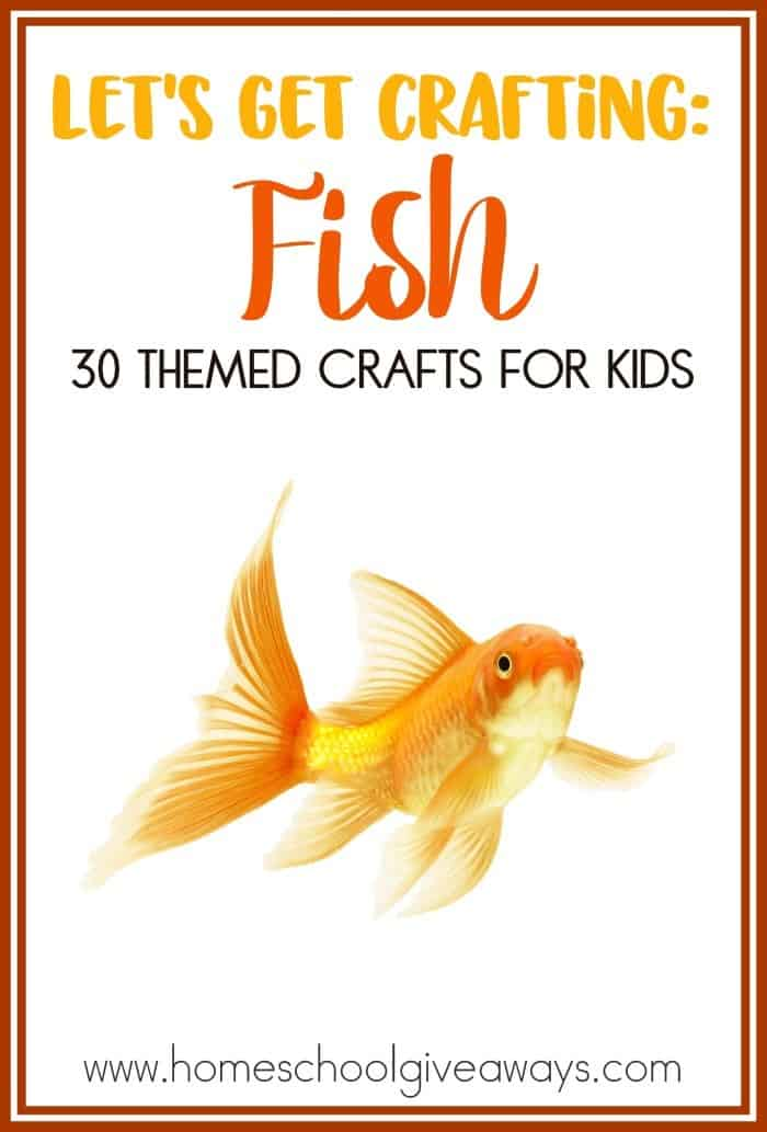 Warm weather and fish themed activities always seem to go together. If you are planning a fish themed unit then these crafts will be something you will want to check out. :: www.homeschoolgiveaways.com