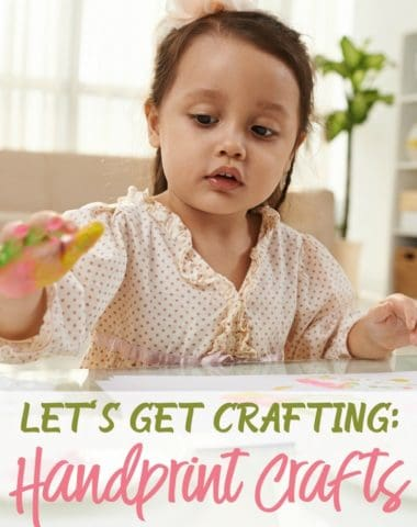 Finding handprints everywhere is nothing unusual but one day we are gonna miss those tiny handprints. With these cute crafts, we can actually take time to celebrate those cute handprints. :: www.homeschoolgiveaways.com