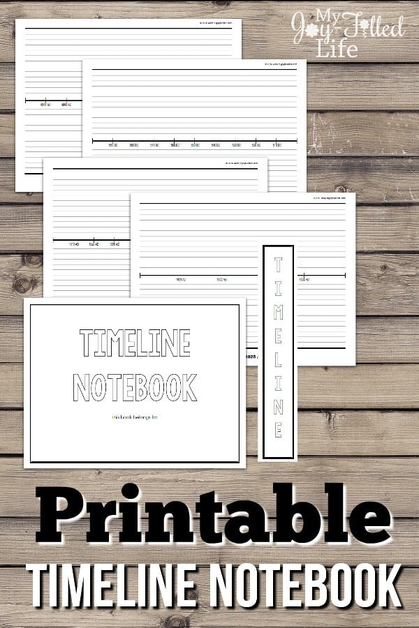 Printable-Timeline-Notebook