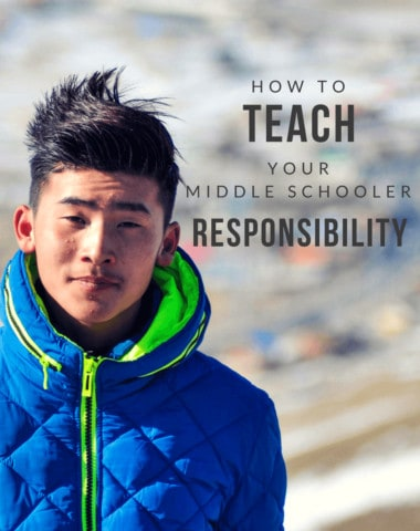 how to teach your middle schooler responsibility, homeschoolgiveaways.com, orig. pic free on canva.com
