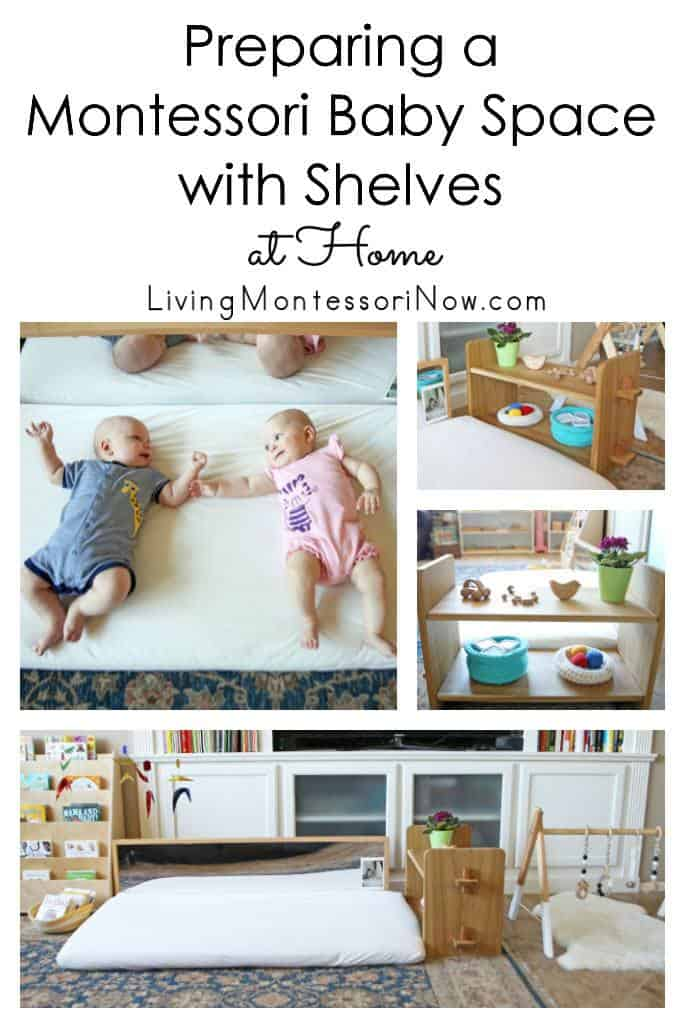Preparing-a-Montessori-Baby-Space-with-Shelves-at-Home