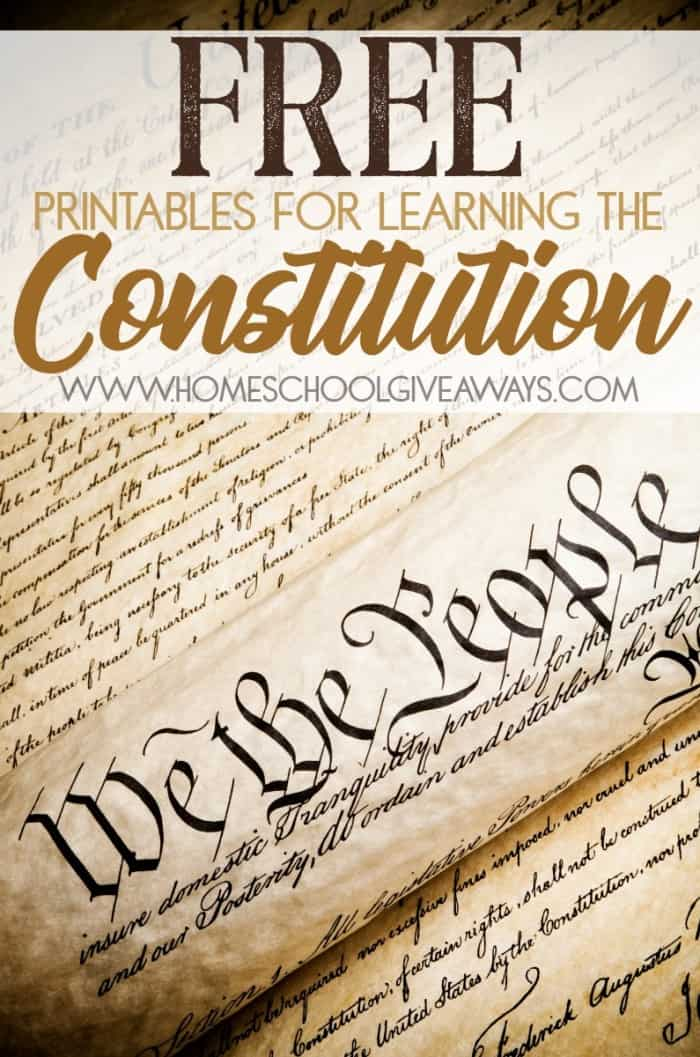 We the People script with overlay - Free Printables for Learning the Constitution