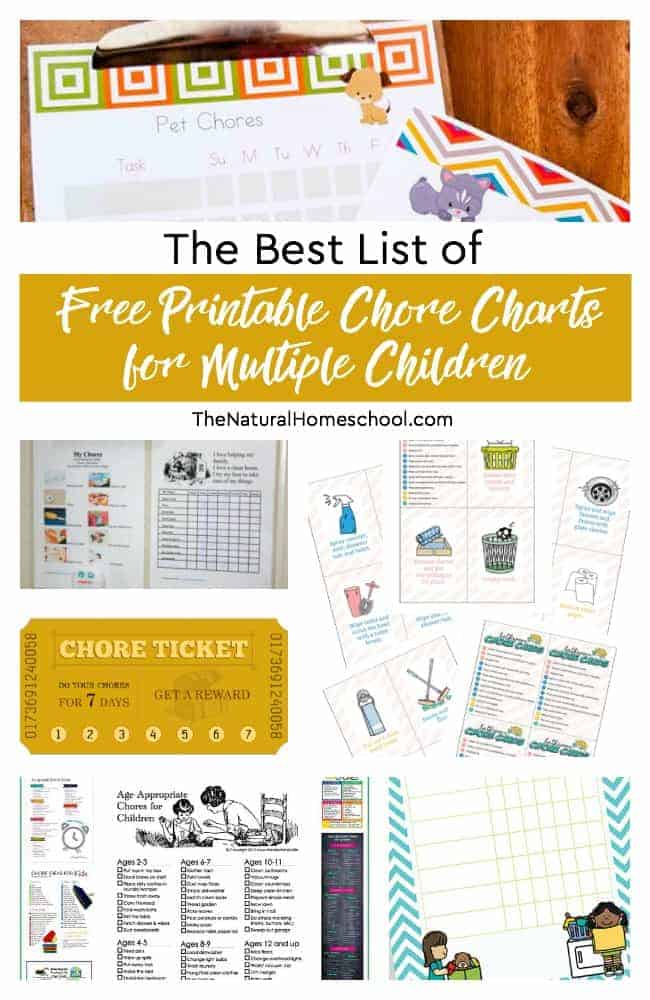 It's just a graphic of Free Printable Chore Charts within weekly
