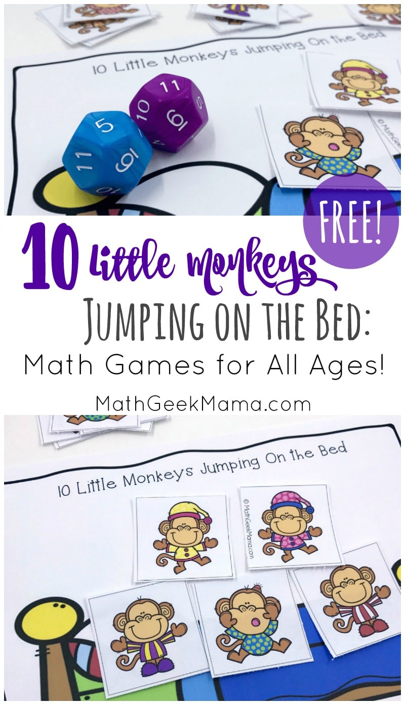 Ten-Little-Monkeys-Jumping-on-the-Bed-Math-Game-PIN