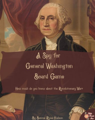 A Spy for General Washington Board Game