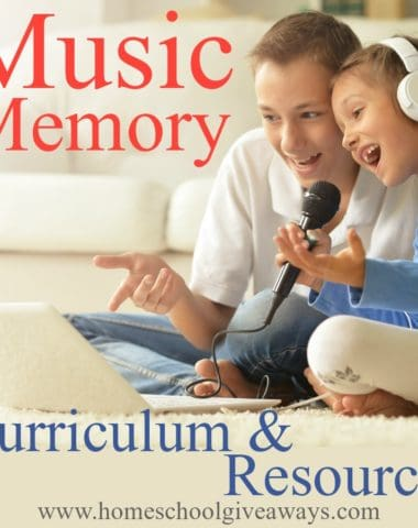 Have you ever thought about how much music plays a role in learning? It can enhance your learning environment, improve memory skills and more. Find out how and check out these amazing resources that might just revolutionize your homeschool. :: www.homeschoolgiveaways.com