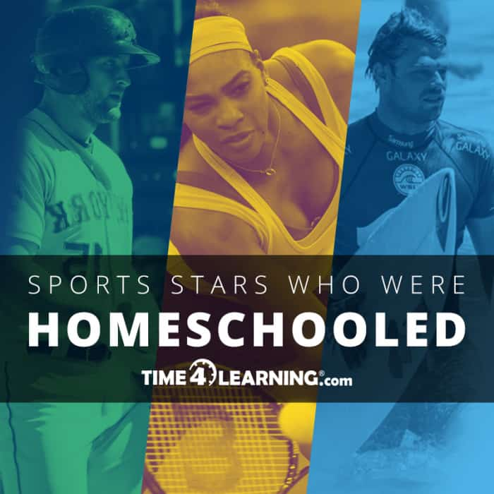 sports images with overlay - Sports Stars Who Were Homeschooled