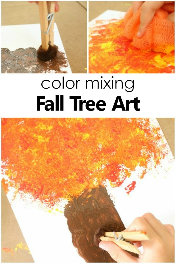 Color-Mixing-Fall-Tree-Craft-and-Autumn-Art-Project-for-Kids-preschool-kidsactivities-autumn