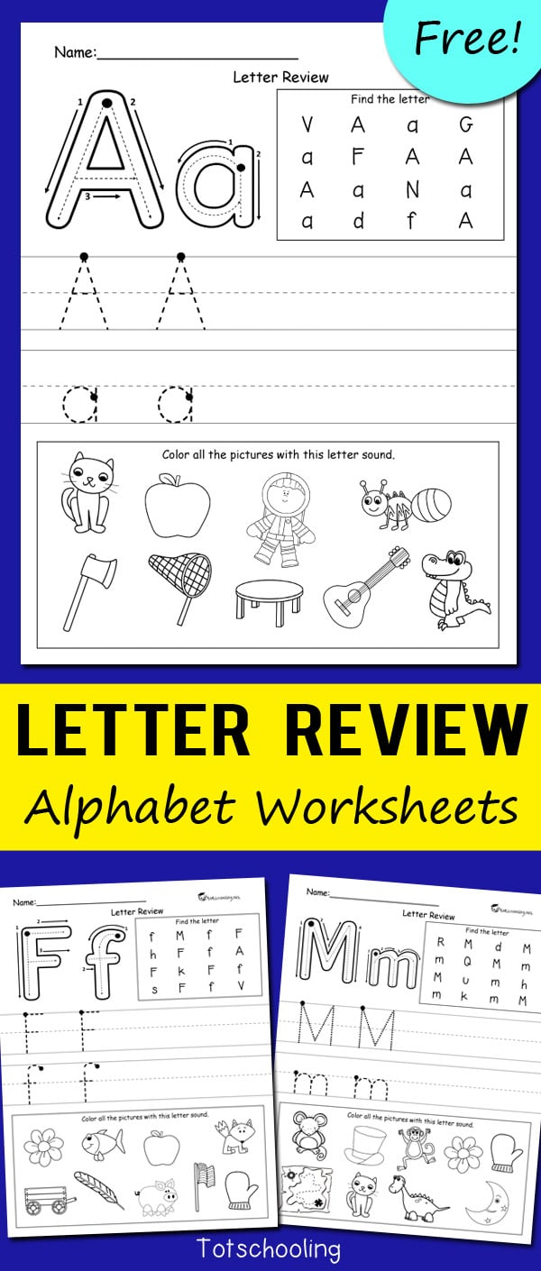Letter-Review-Alphabet-Worksheets